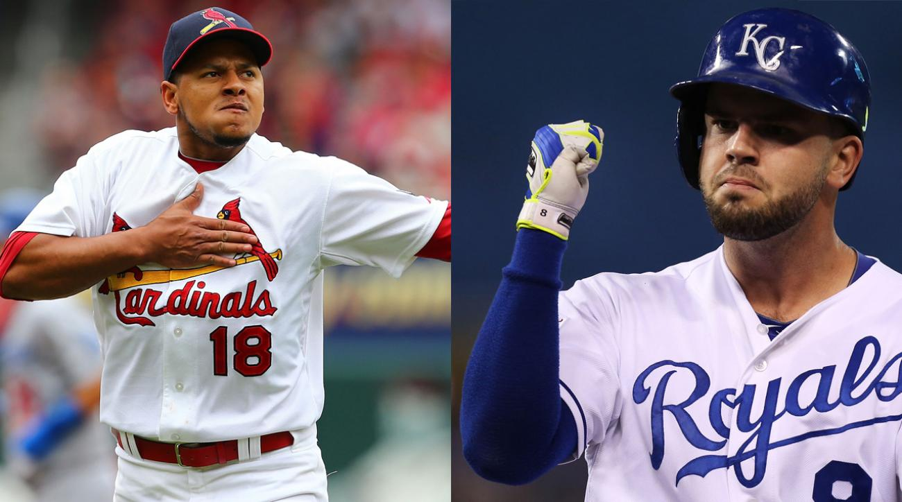 Mike Moustakas, Carlos Martinez win All-Star Game Final Vote IMAGE