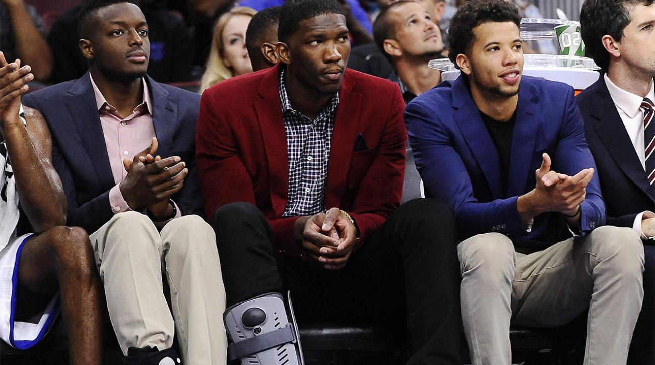 76ers Joel Embiid will again sit out the season IMAGE