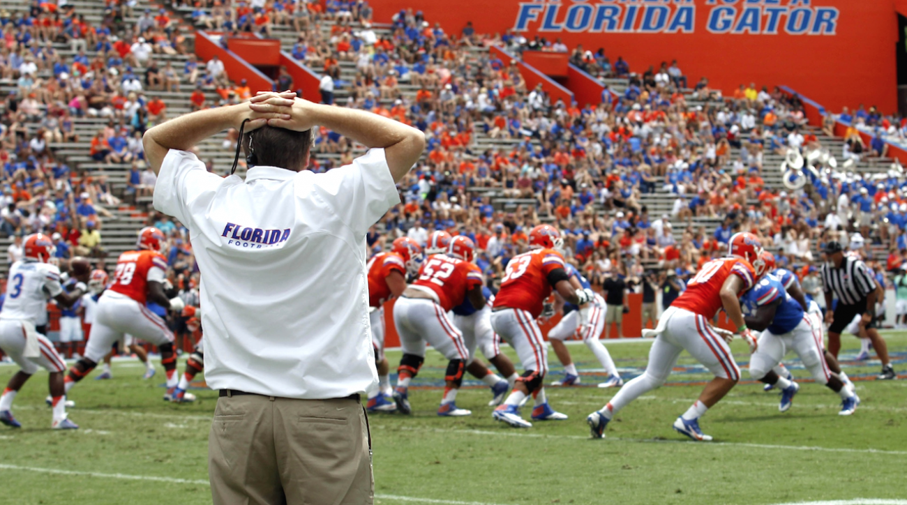 College football, Florida Gators, Jim McElwain, SEC Media Days, sports illustrated
