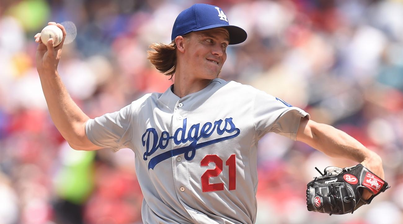 Dodgers' Zack Greinke staring down history IMAGE