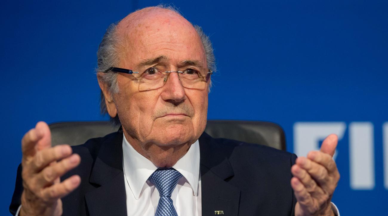 Sepp Blatter confirms he will not run for FIFA president  IMAGE