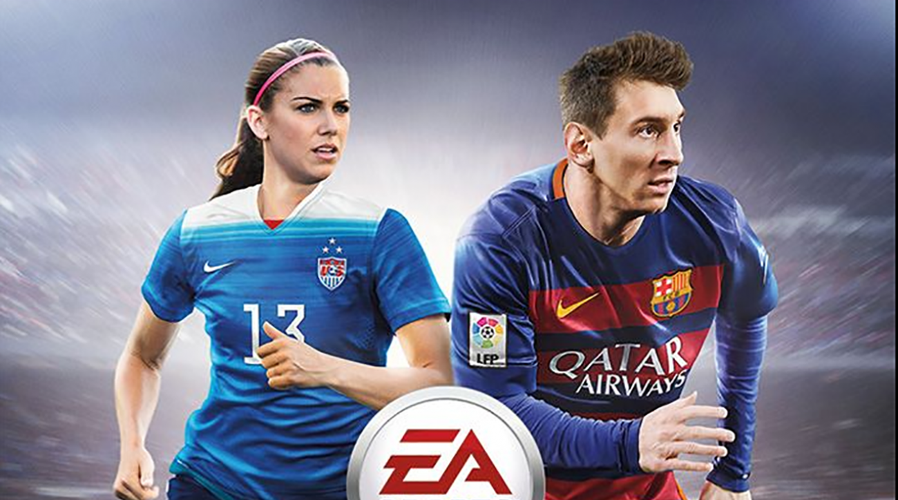 Alex Morgan first female athlete featured on regional FIFA cover