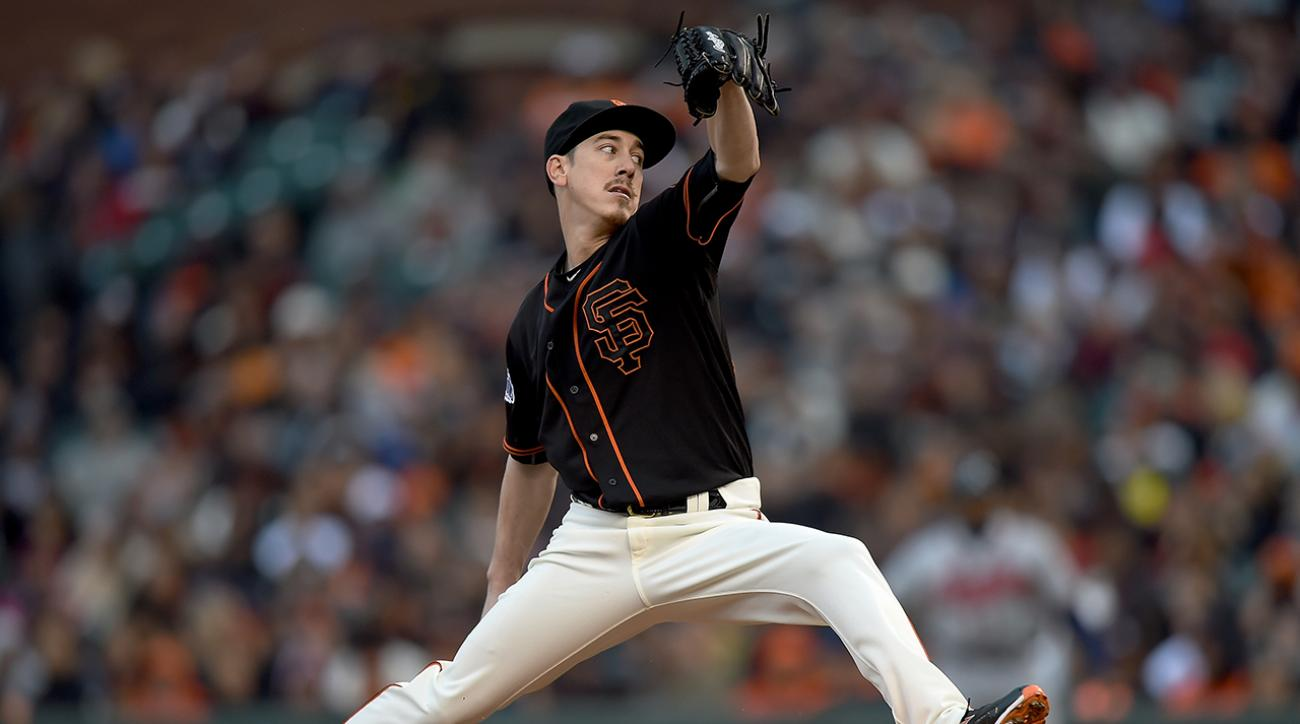 Giants' Tim Lincecum diagnosed with degenerative condition in both hips IMAGE