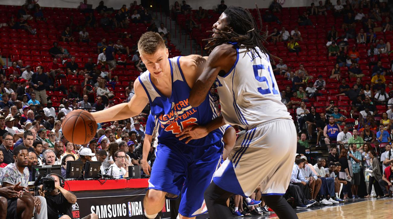 Kristaps Porzingis ready to contribute under tutelage of Phil Jackson IMG