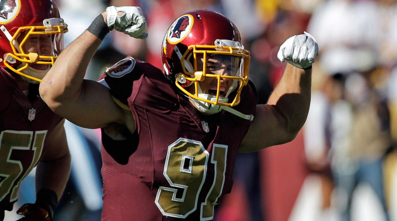 Redskins OLB Ryan Kerrigan signs five year contract extension