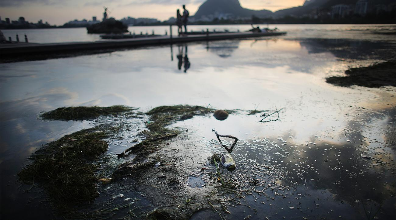 Tests find Rio 2016 competition waters filled with sewage