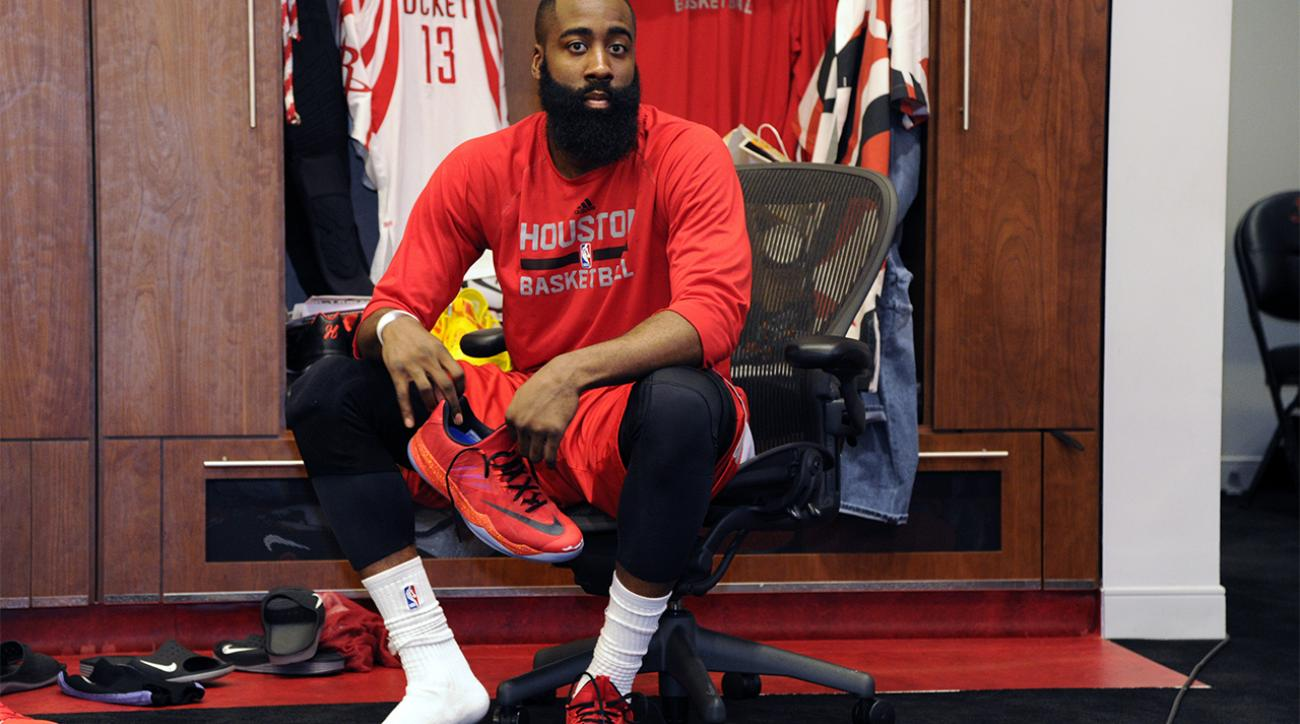 James Harden: Adidas offers Rockets guard $200 million to leave Nike |  SI.com
