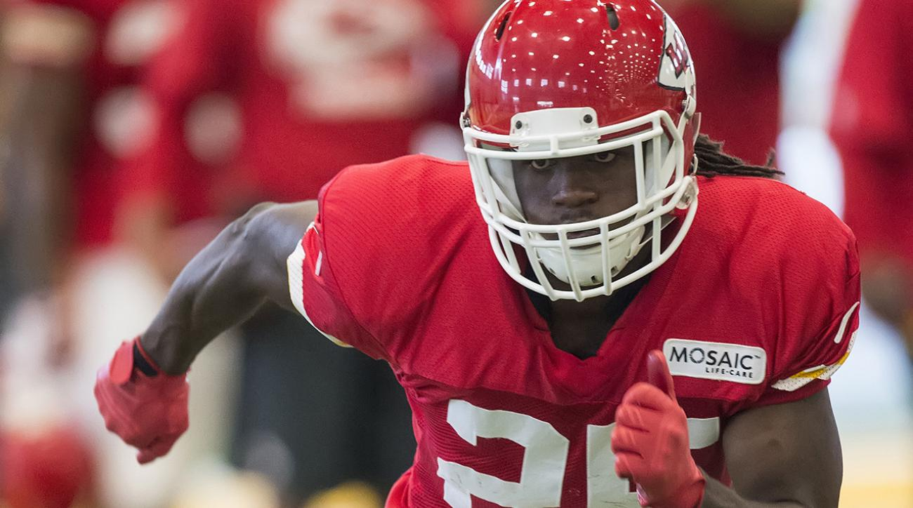 Pads go on in Day 3 of Chiefs training camp