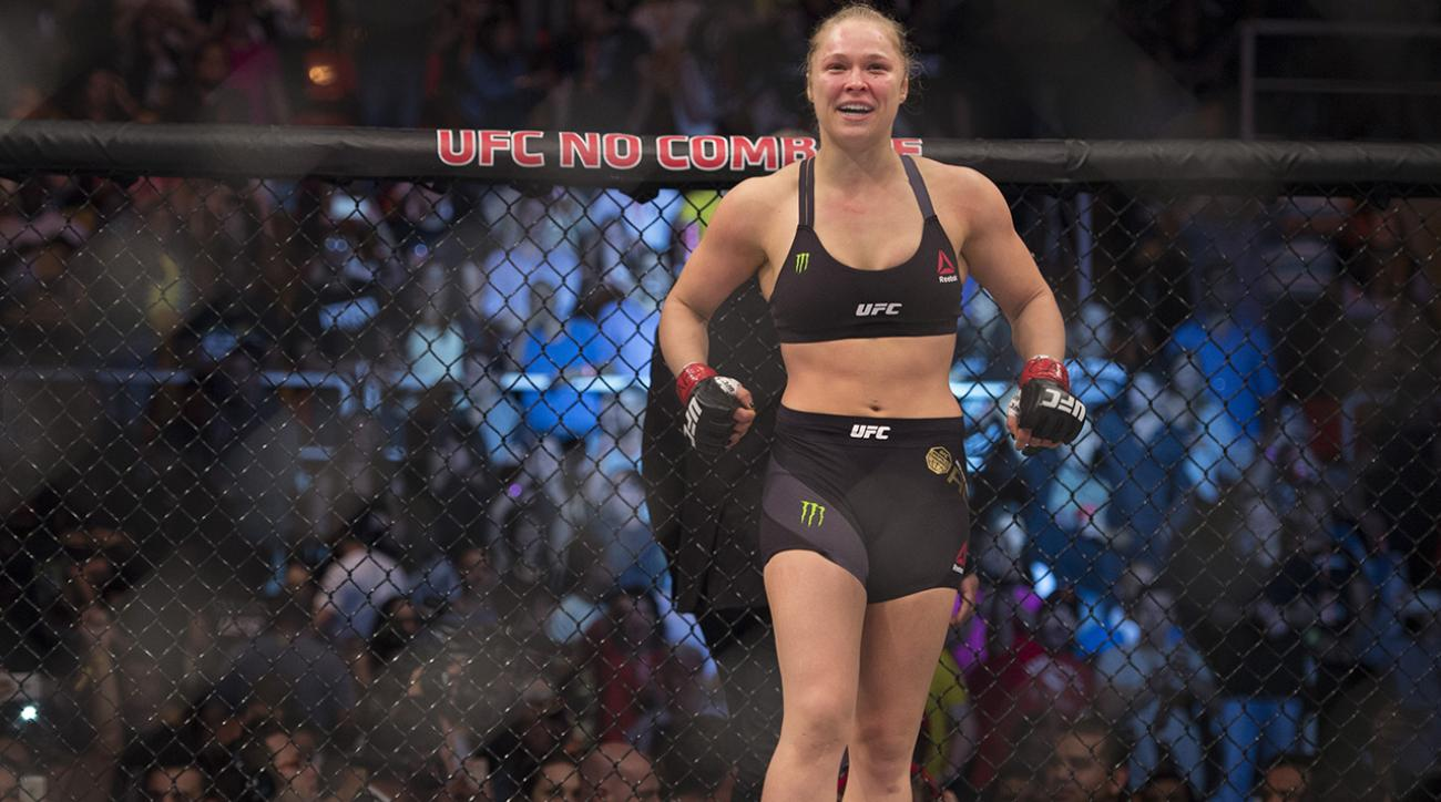 Ronda Rousey to star in her own film
