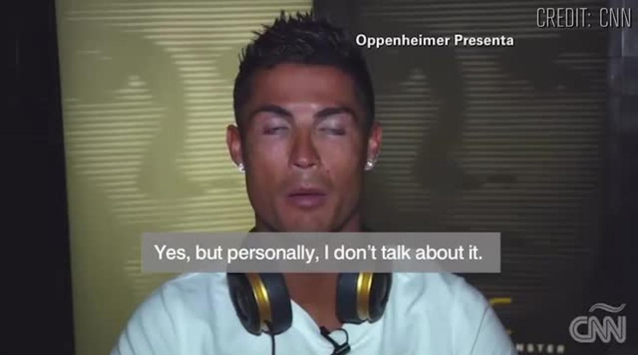 Cristiano Ronaldo walks out on interview