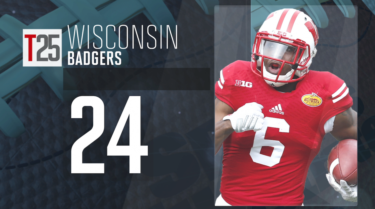 2015 college football preseason Top 25: Wisconsin Badgers, No. 24 IMG