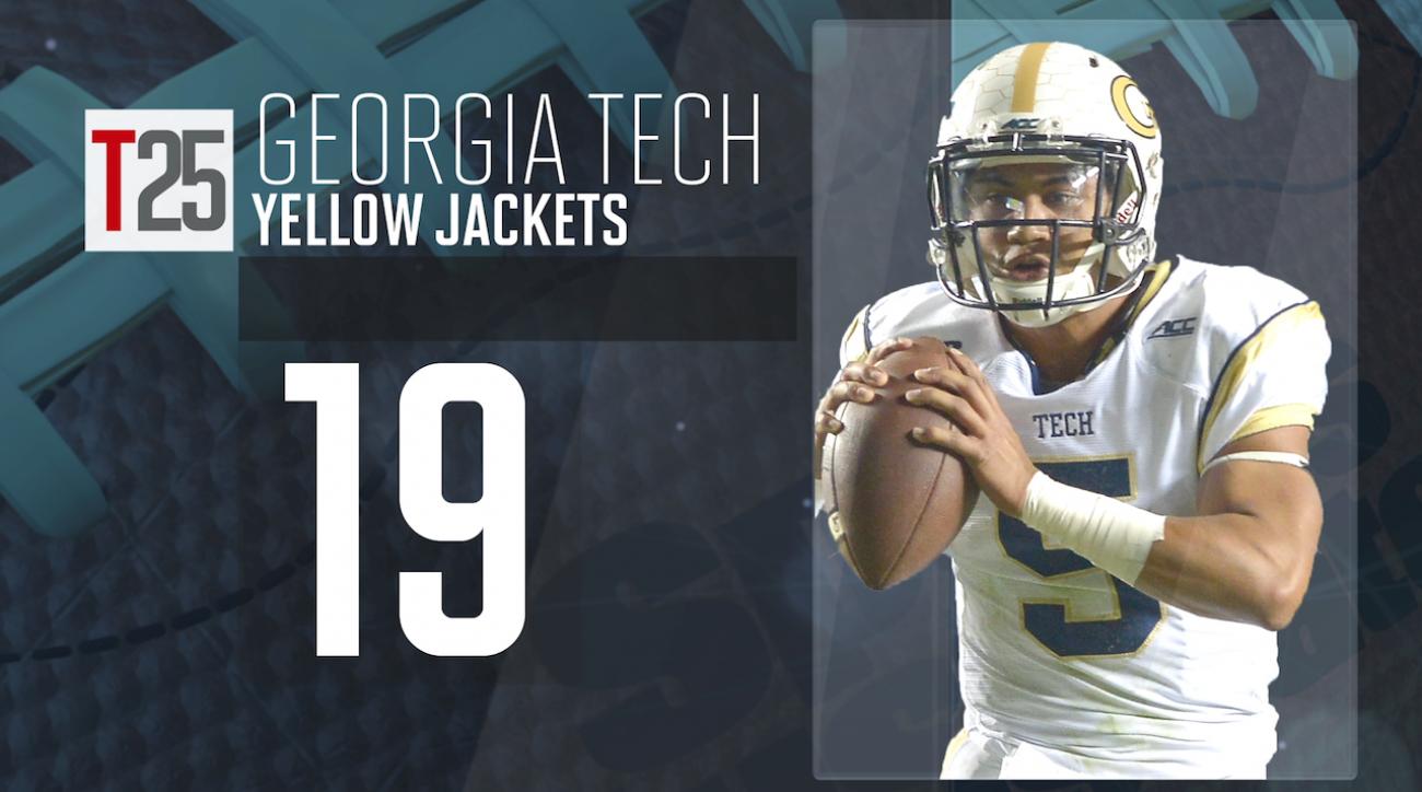 2015 college football preseason Top 25: Georgia Tech Yellow Jackets, No. 19 IMG