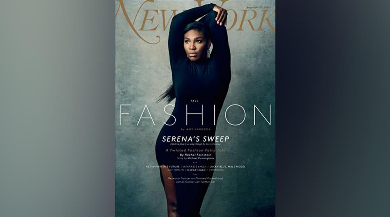 Serena Williams lands New York Magazine cover