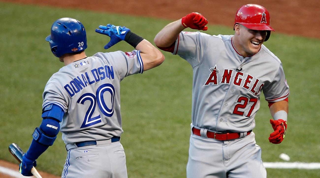 Donaldson catching Trout in AL MVP race IMG