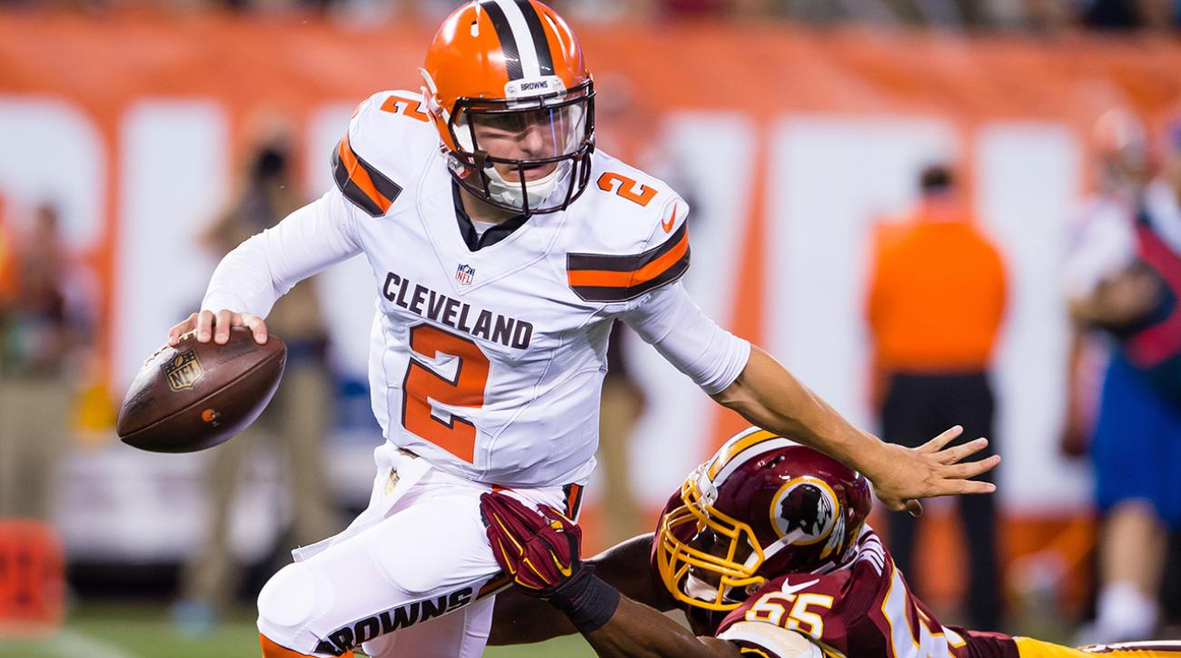 Manziel flashes, but Browns show weaknesses in run support