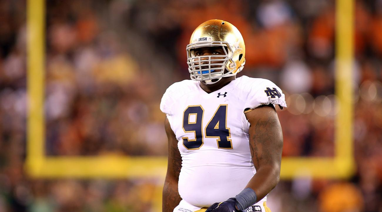 Notre Dame DT Jarron Jones out for the season with torn MCL
