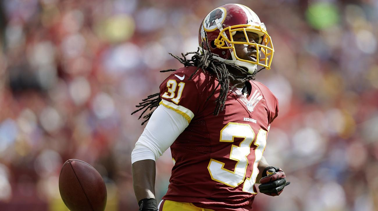 Giants sign safety Brandon Meriweather to help with depleted secondary IMAGE