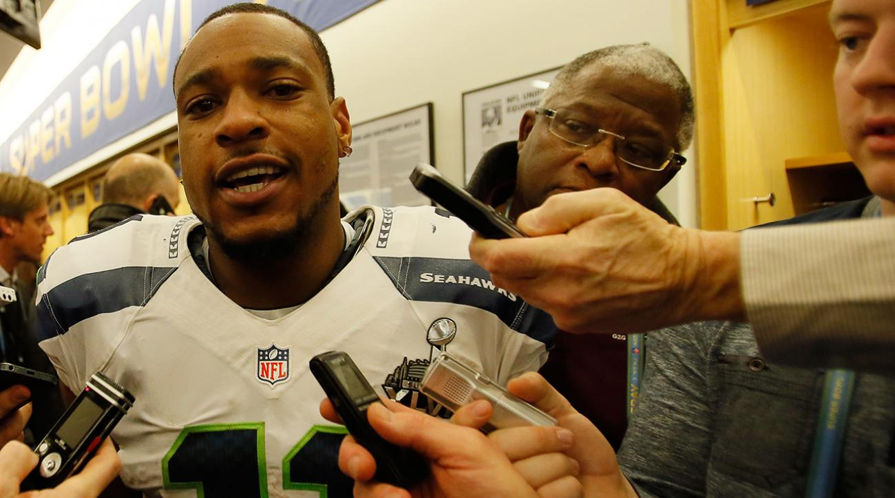 Percy Harvin: Seahawks teammates were 'acting like kids'