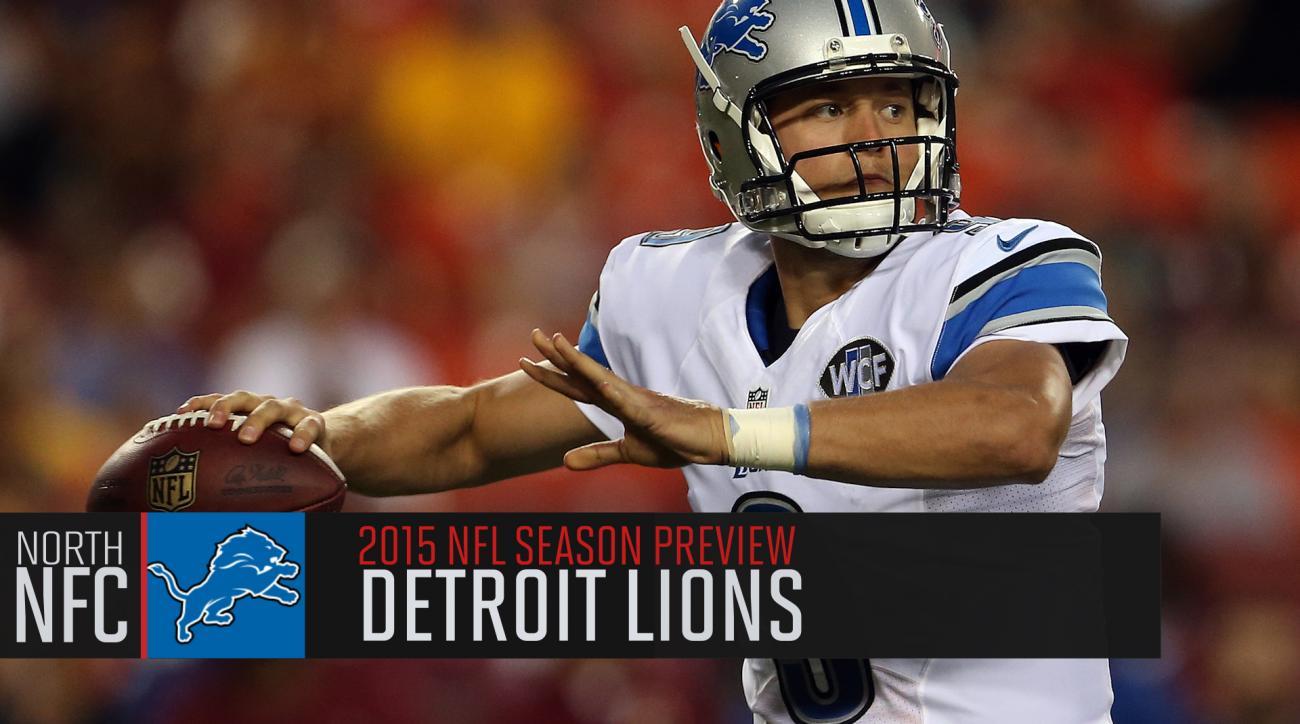 Detroit Lions 2015 season previews