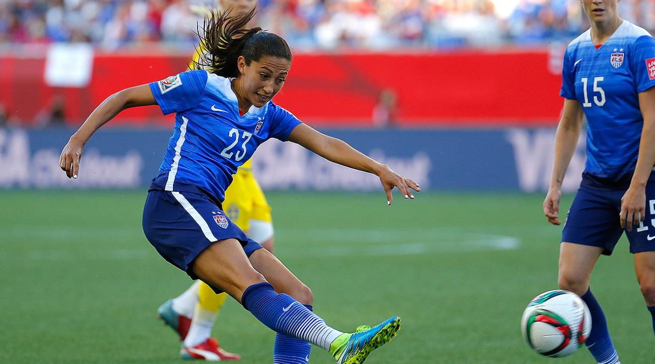 Christen Press reflects on most memorable World Cup Final moments