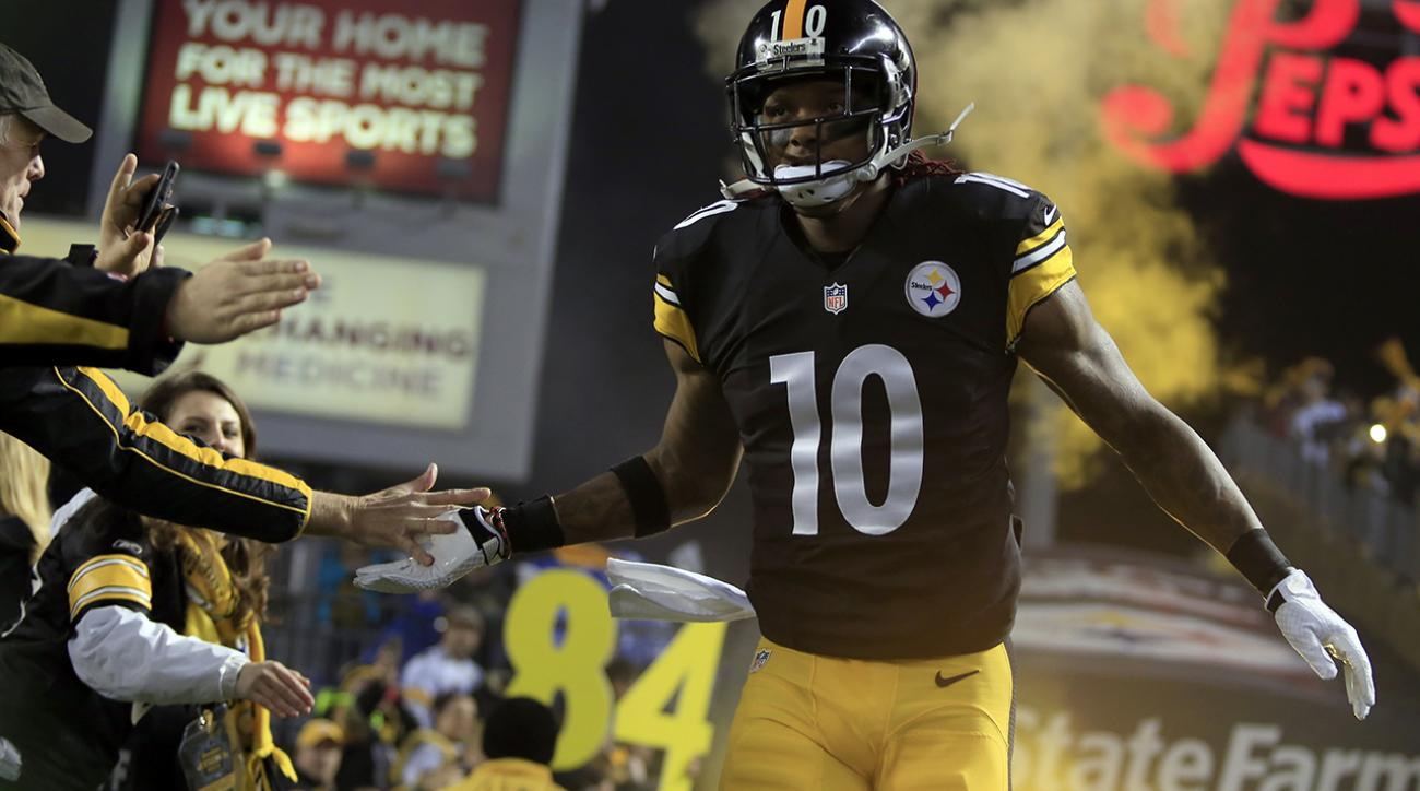 Reports: Steelers wide receiver Martavis Bryant suspended four games IMAGE