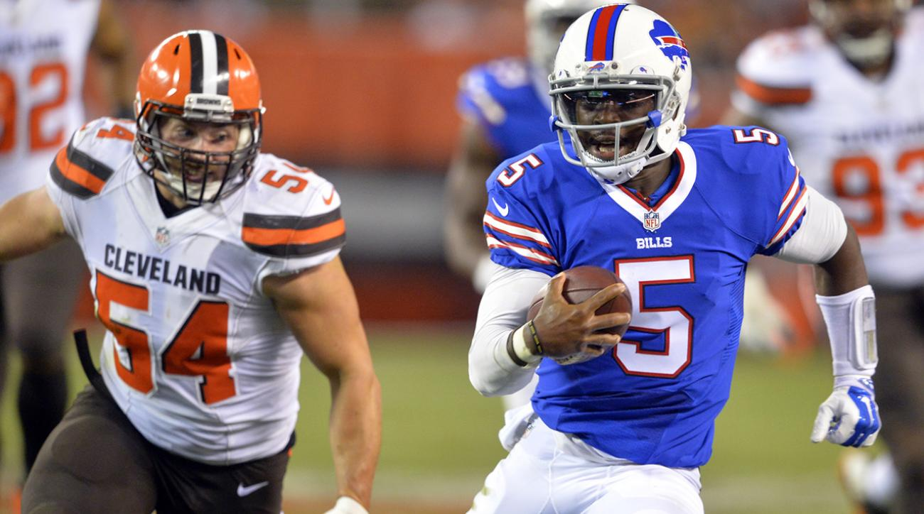 Buffalo Bills name Tyrod Taylor starting quarterback