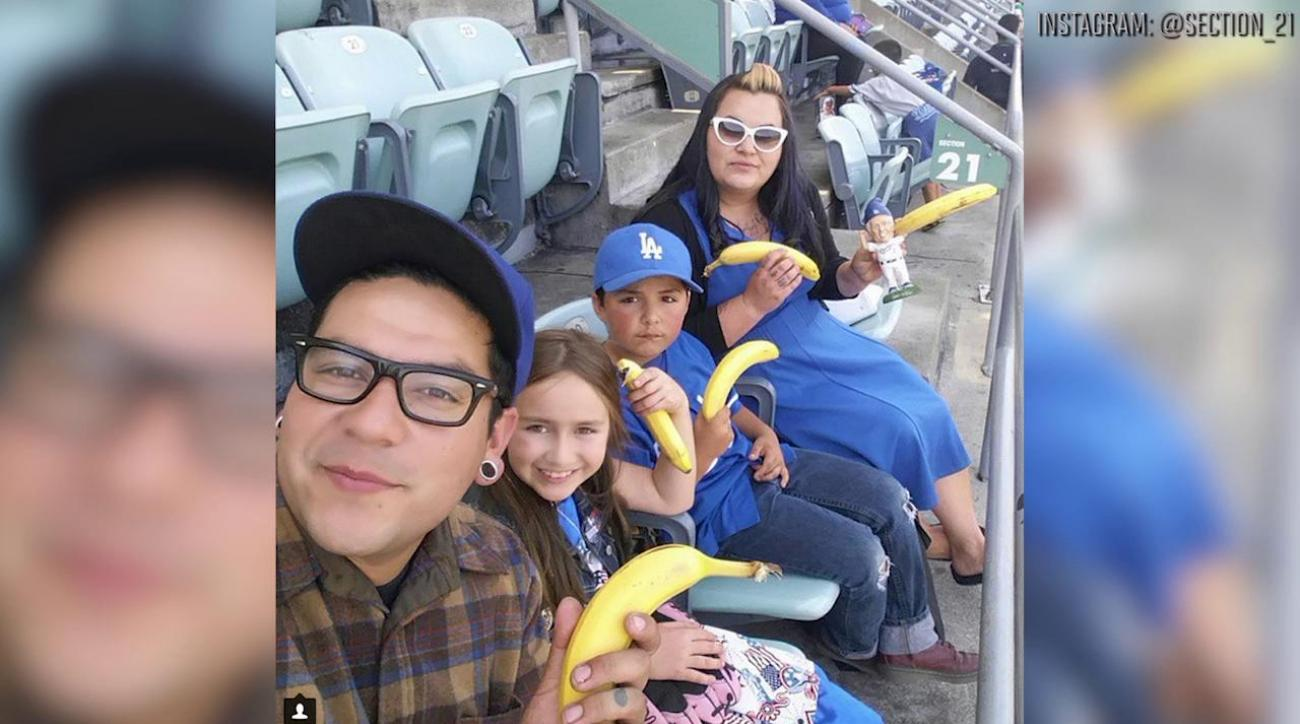 Dodgers find more success behind the rally banana