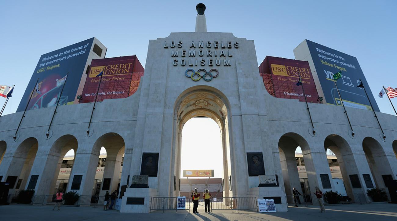 US Olympic committee announces Los Angeles bid for 2024 games IMAGE