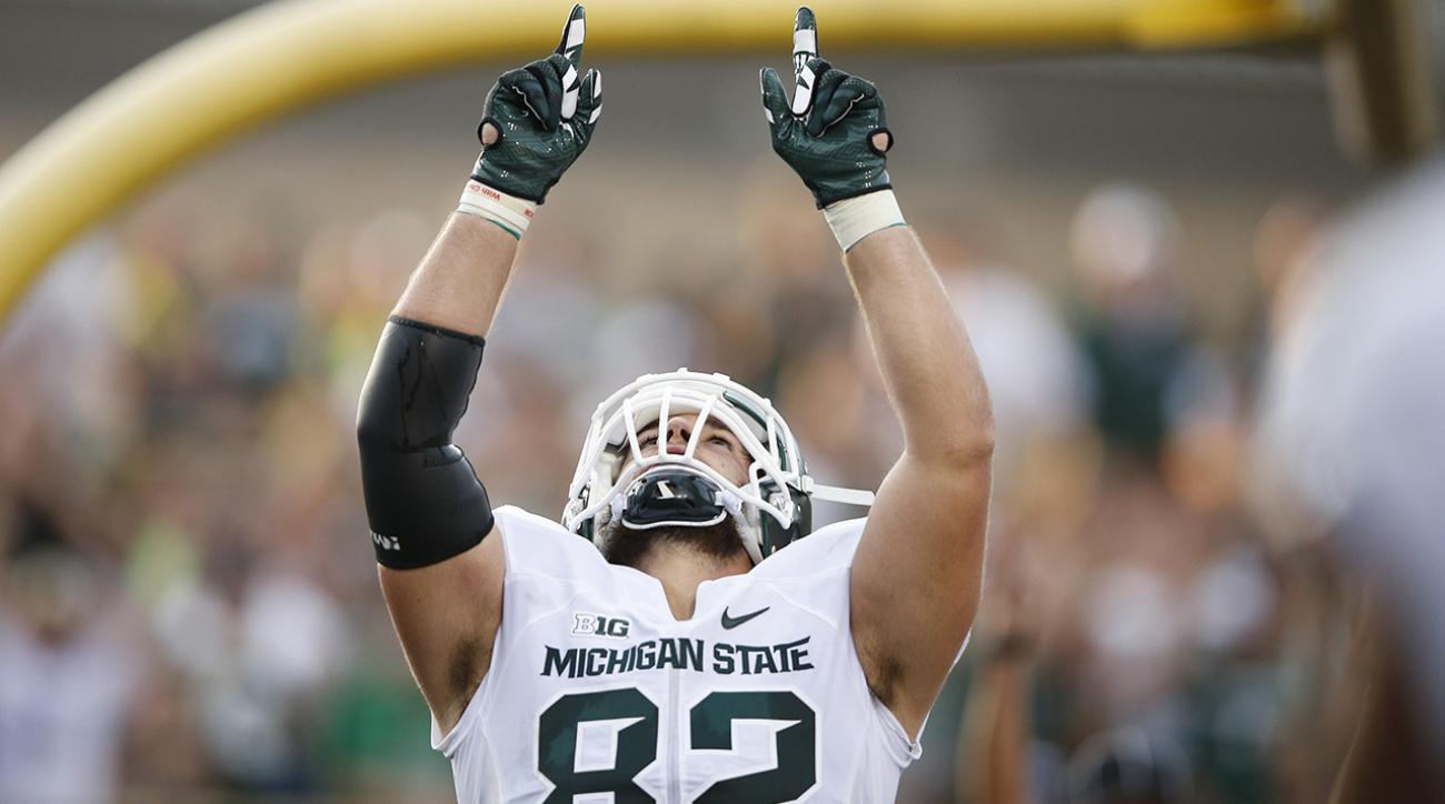 michigan state spartans, ncaaf, Oregon Ducks, si video, sports illustrated, michigan state oregon, college football schedule