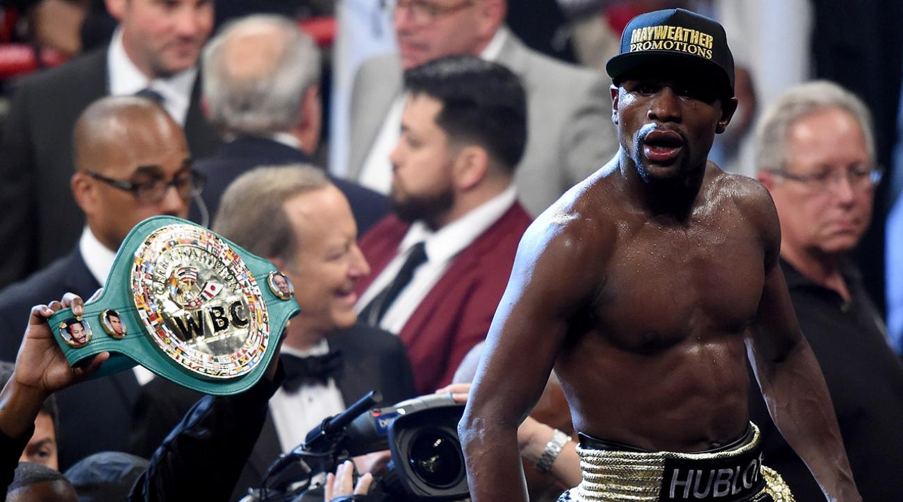 Report: Floyd Mayweather received banned IV before Pacquiao fight