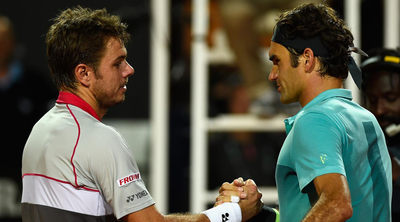 U.S. Open Men's Semifinals Preview: Roger Federer (2) vs. Stan Wawrinka (5)