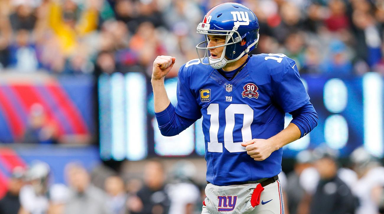 Report: Giants QB Eli Manning finalizing four-year contract extension IMAGE