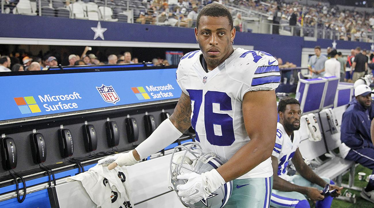 Cowboys DE Greg Hardy won't challenge suspension in court IMAGE