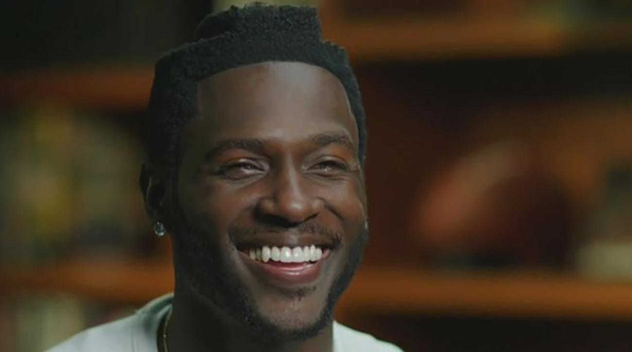 Video Pittsburgh Steelers Antonio Brown Haircut Inspires Internet