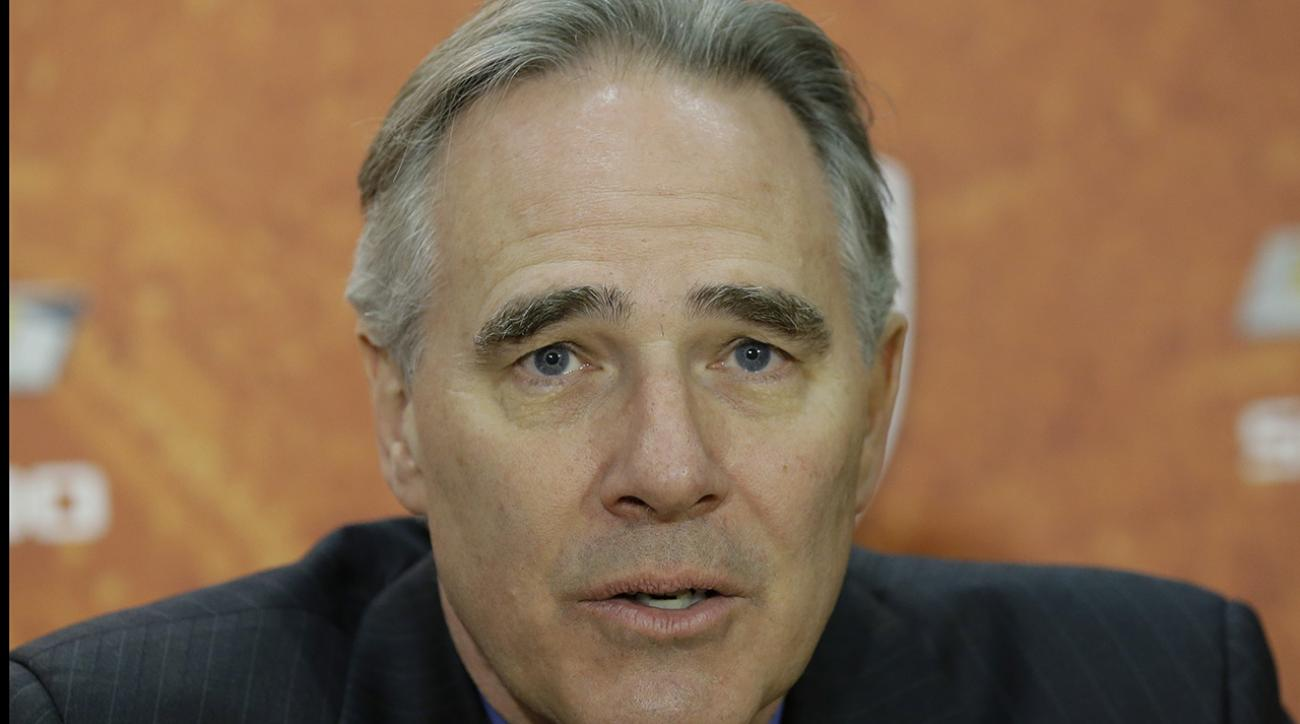 Texas Fires Athletic Director Steve Patterson