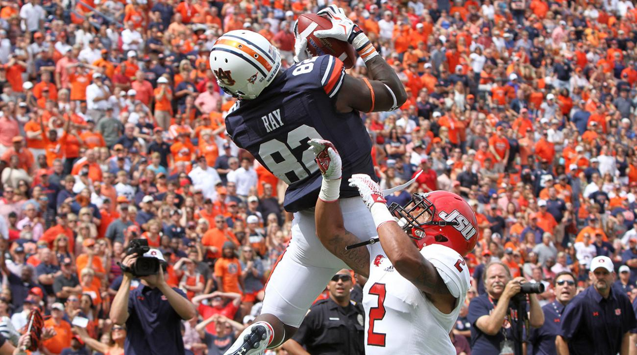 auburn tigers, michigan state spartans, ncaaf, power rankings, si video, si wire