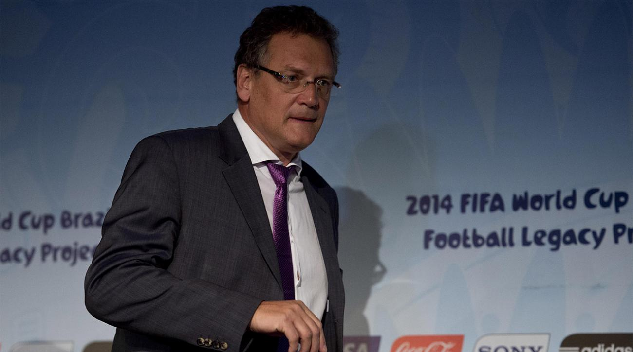 FIFA relieves Jerome Valcke amid ticket scalping allegations IMAGE