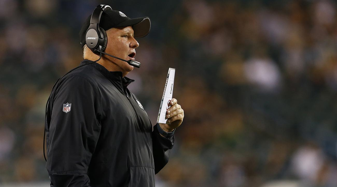 Pressure mounting for Chip Kelly and Eagles with winless start