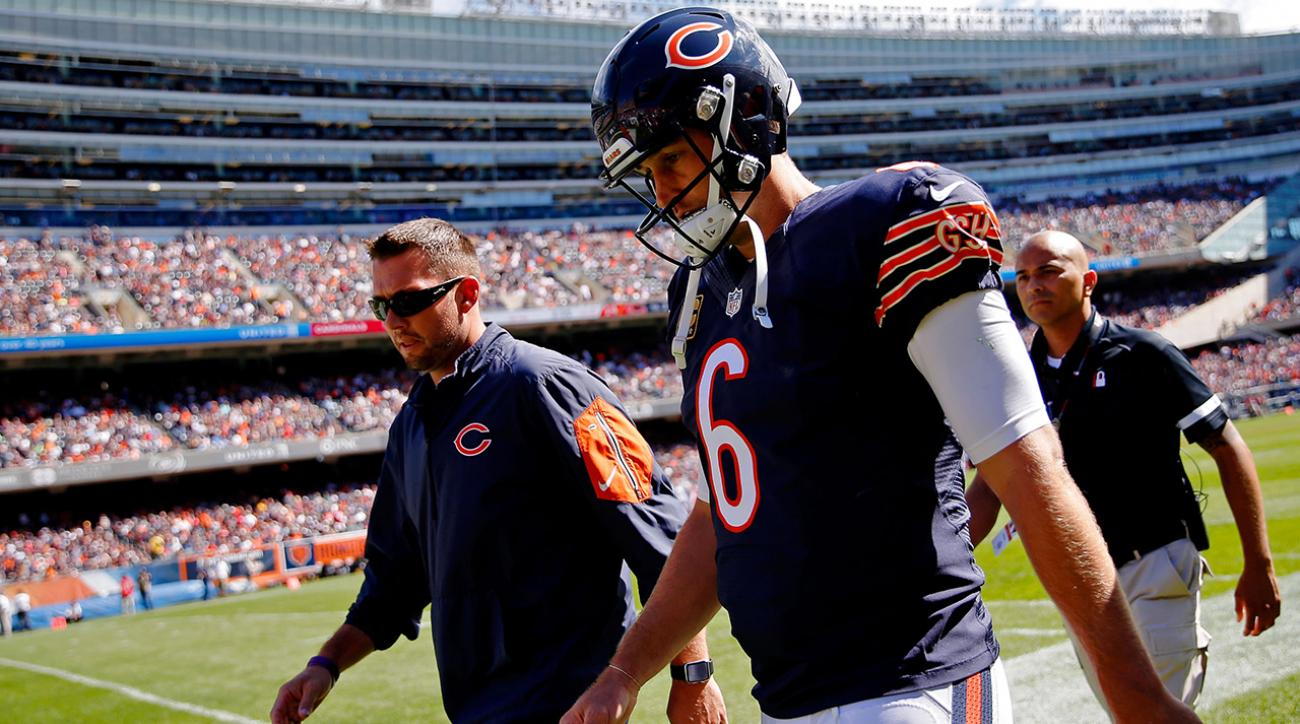 Report: Bears QB Jay Cutler (hamstring) out at least two weeks IMAGE