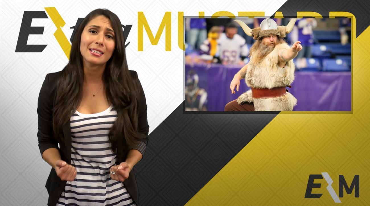 Mustard Minute: Minnesota Vikings part ways with mascot Ragnar IMG