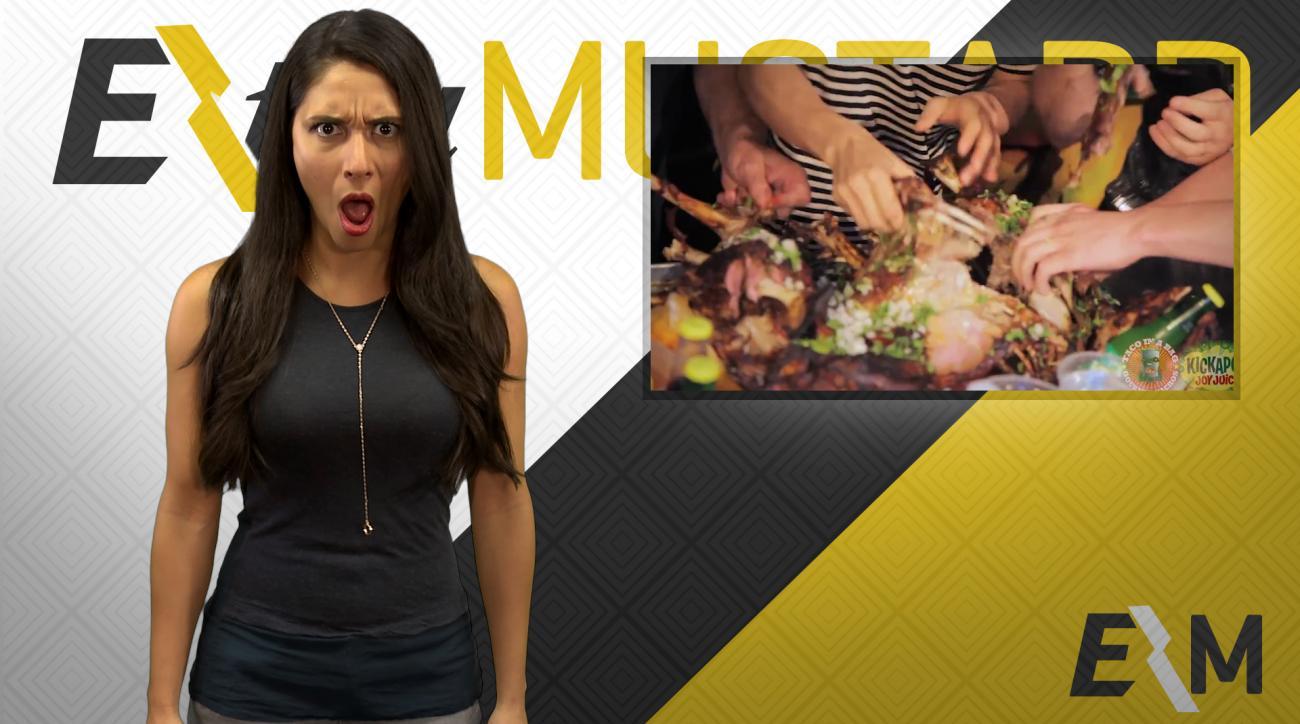 Mustard Minute: Kobayashi eats goat to reverse Cubs curse IMG