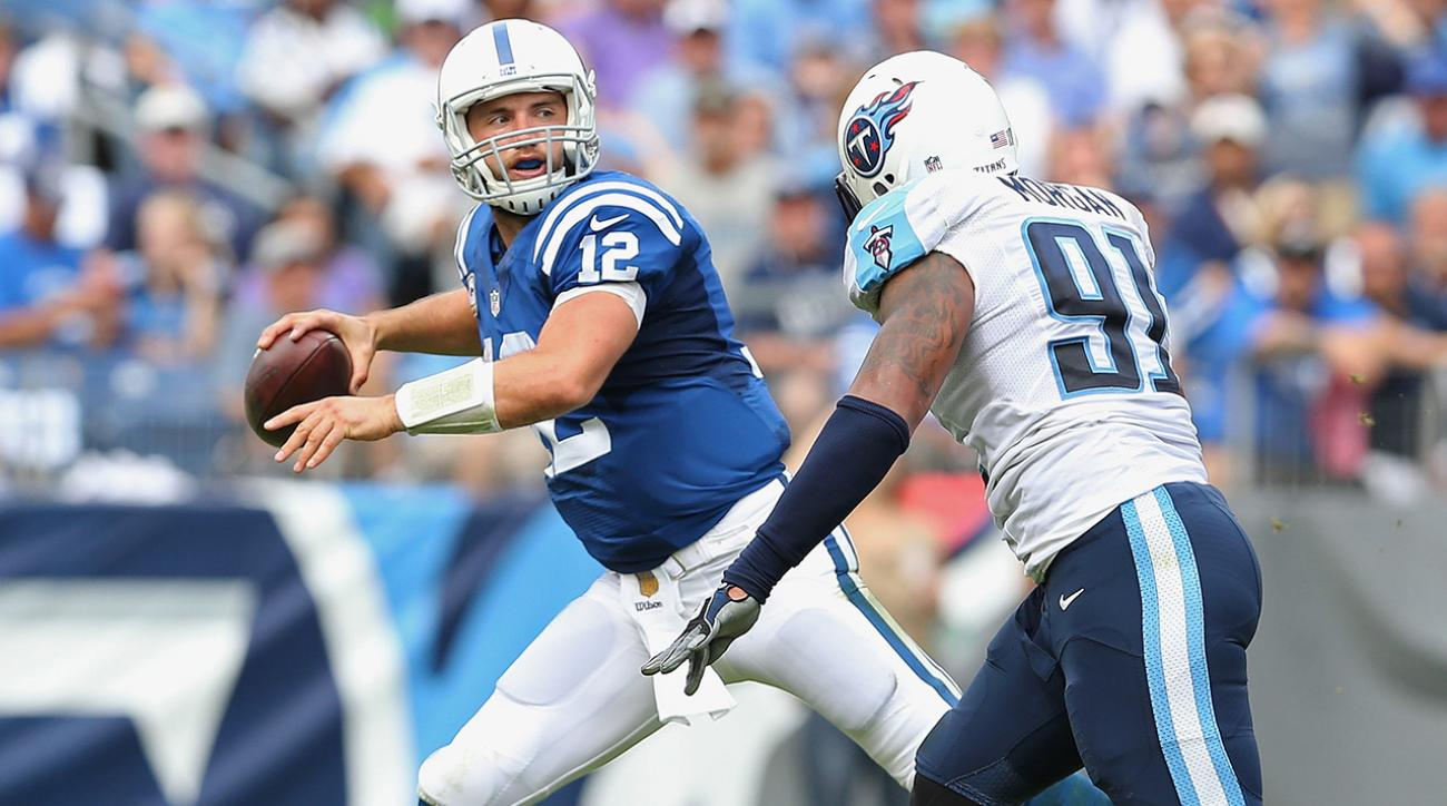 Luck and Colts grab first win against Titans