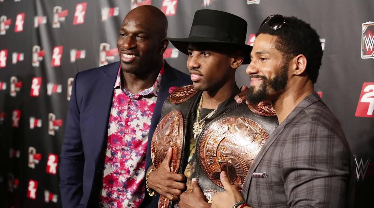 WWE's Titus O'Neil discusses race, wrestling, and 'Gator good'