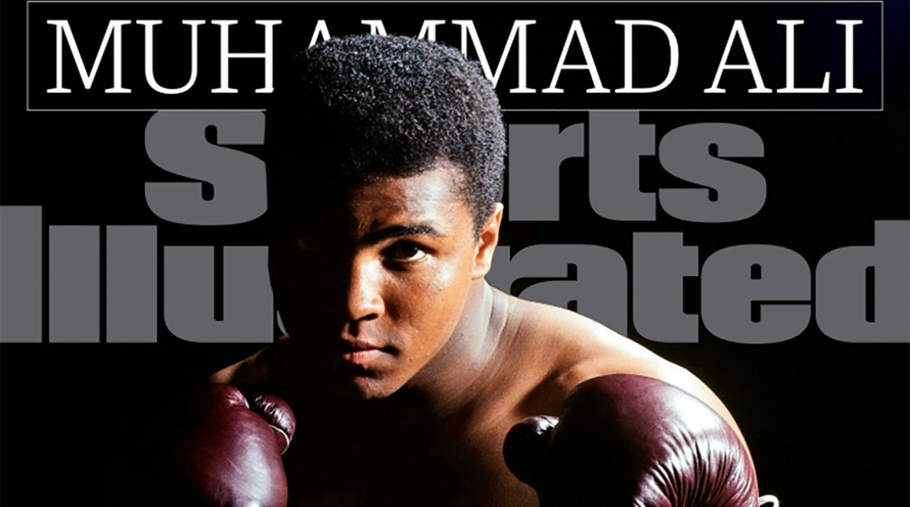 Muhammad Ali lands cover of Sports Illustrated