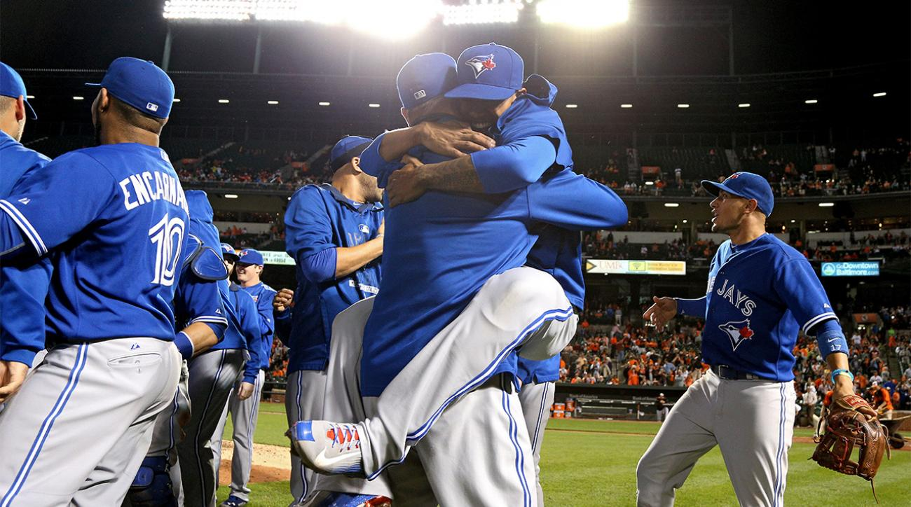 Toronto Blue Jays clinch first American League East title in 22 years