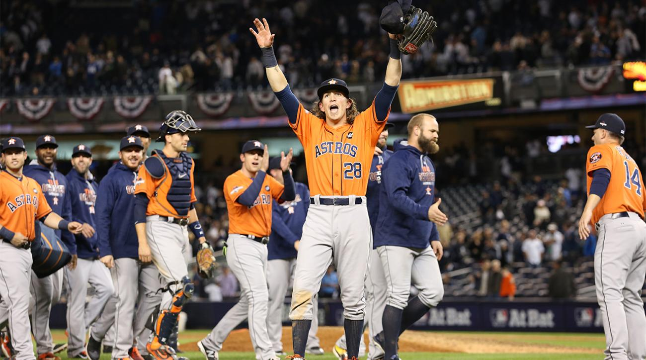 Astros defeat Yankees in AL wild-card game, will face Royals in ALDS IMAGE
