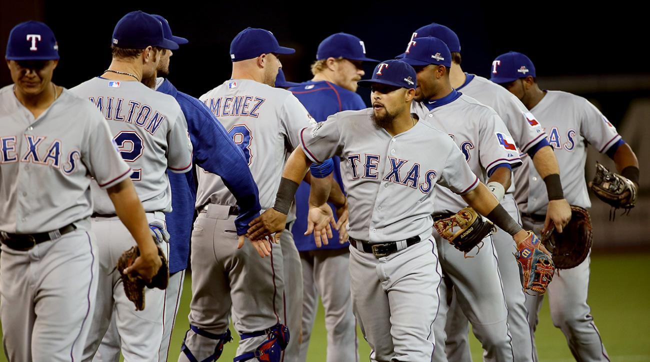 Rangers take ALDS Game 1 against Blue Jays IMAGE
