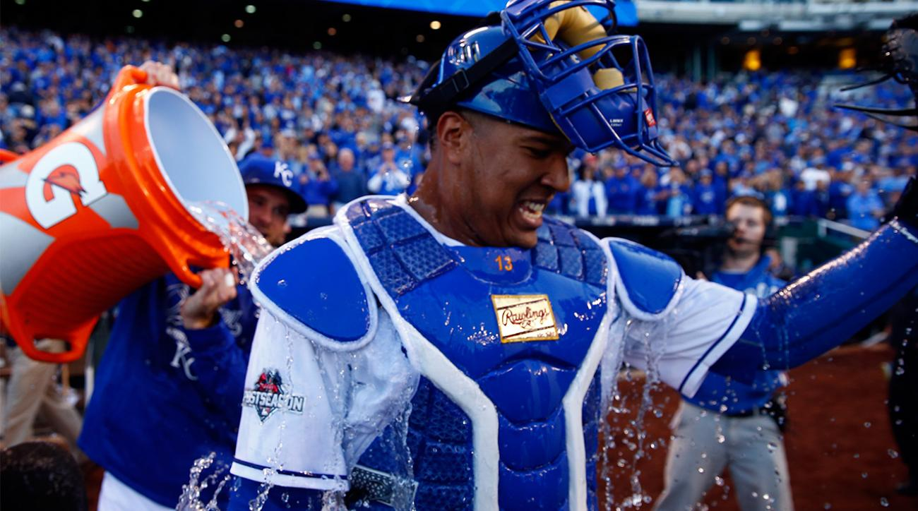 Kansas City Royals rally, beat Houston Astros 5-4 to even ALDS at 1 game each IMAGE