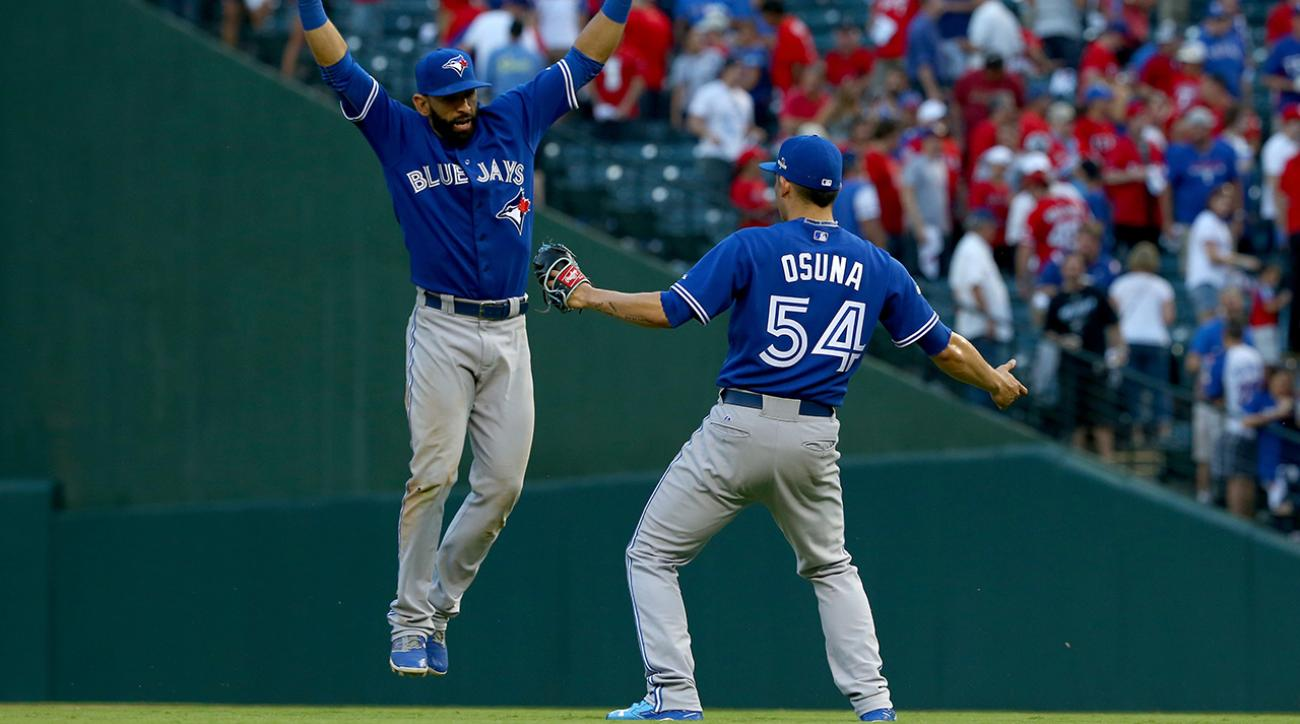 Blue Jays force Game 5 with 8-4 win at Texas IMAGE