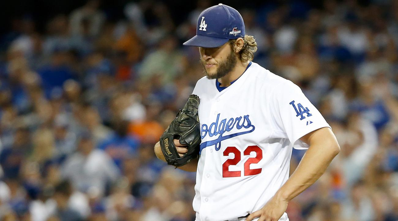 Dodgers' hopes now rest on Clayton Kershaw